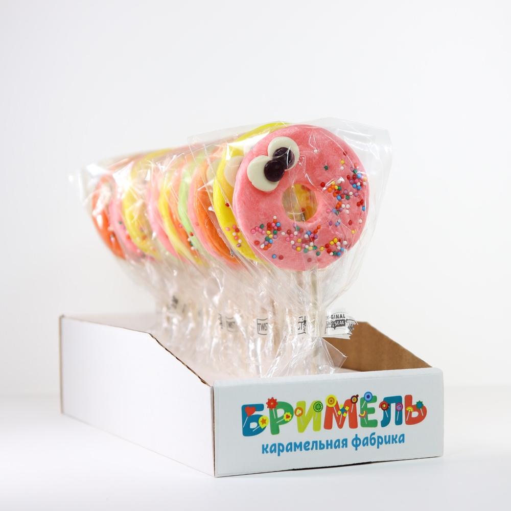 Леденец «Пончик» 30 грамм вложение 16 штук