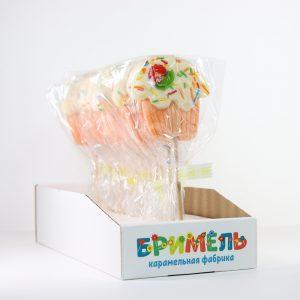 Леденец «Кекс» 30 грамм вложение 16 штук