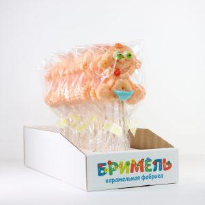 Леденец «Пупсы» 30 грамм вложение 16 штук
