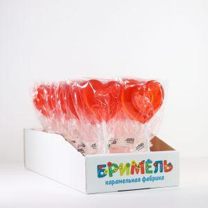 Леденец «Сердце» 20 грамм вложение 30 штук