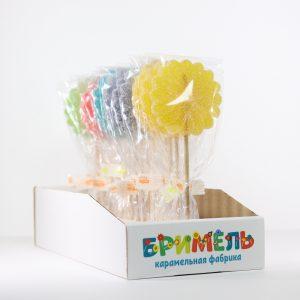 Мармелад жевательный «Цветок» 30 грамм вложение 16 штук