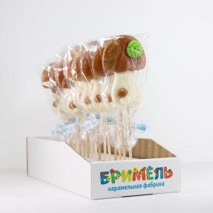 Леденец «Белый гриб» 30 грамм вложение 16 штук