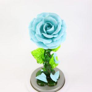 Карамельная Роза большая морозное небо в тубе