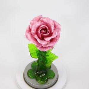 Карамельная Роза средняя лиловая в тубе