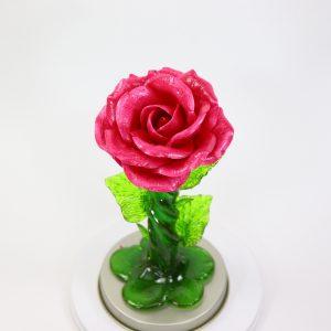 Карамельная Роза средняя малиновая в тубе